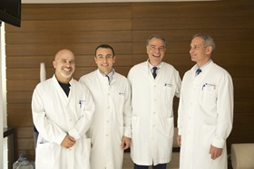 Dr. Kanakas with his IVF specialists